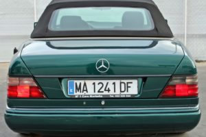Mercedes Benz E200 Convertible - Back - Cheap cars in Spain