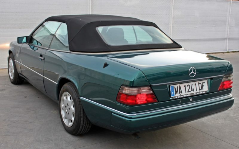 Mercedes Benz E200 Convertible - Back Left side - Cheap cars in Spain