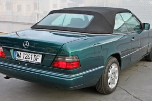 Mercedes Benz E200 Convertible - Back Right side - Cheap cars in Spain