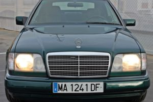 Mercedes Benz E200 Convertible - Front - Cheap cars in Spain