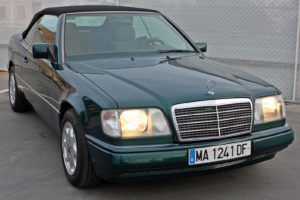 Mercedes Benz E200 Convertible - Front Right side - Cheap cars in Spain